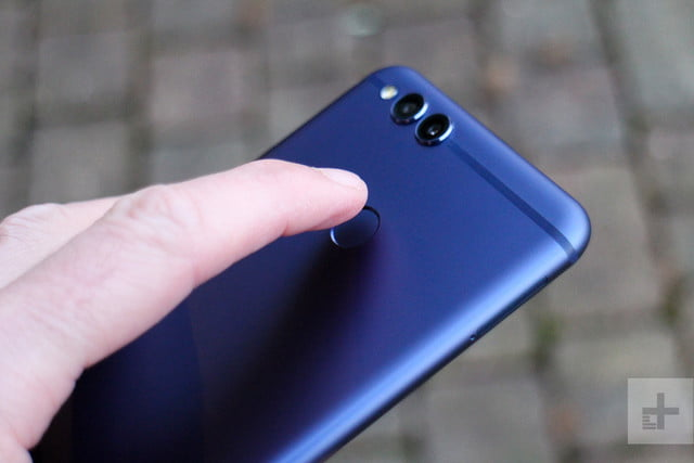 honor 7x review fingerprint