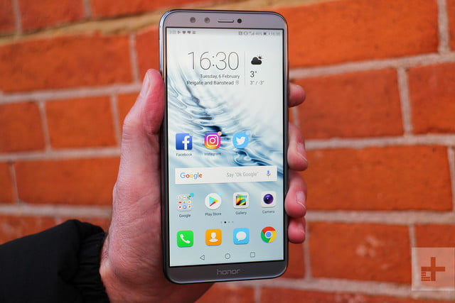 Honor 9 Lite review home