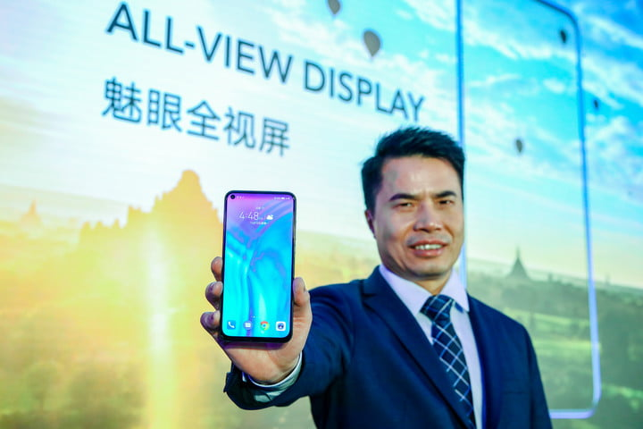 Honor View 20 Hole Punch Display Notch