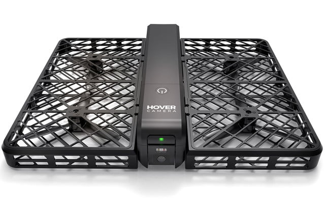 zero robotics launches hover flying camera on  white