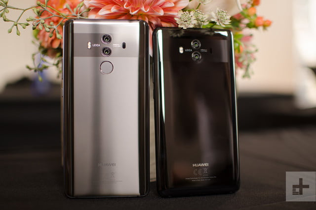 Huawei Mate 10 Pro review both flowers