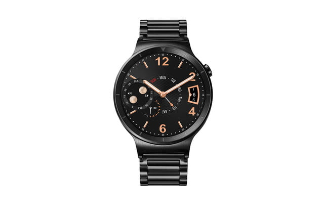 huawei watch news black front