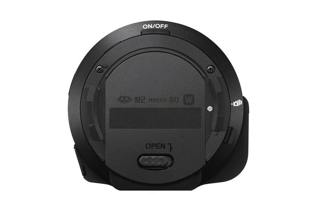 new sony qx1 qx30 action cam mini unveiled ifa 2014 ilceqx1 rear 1200