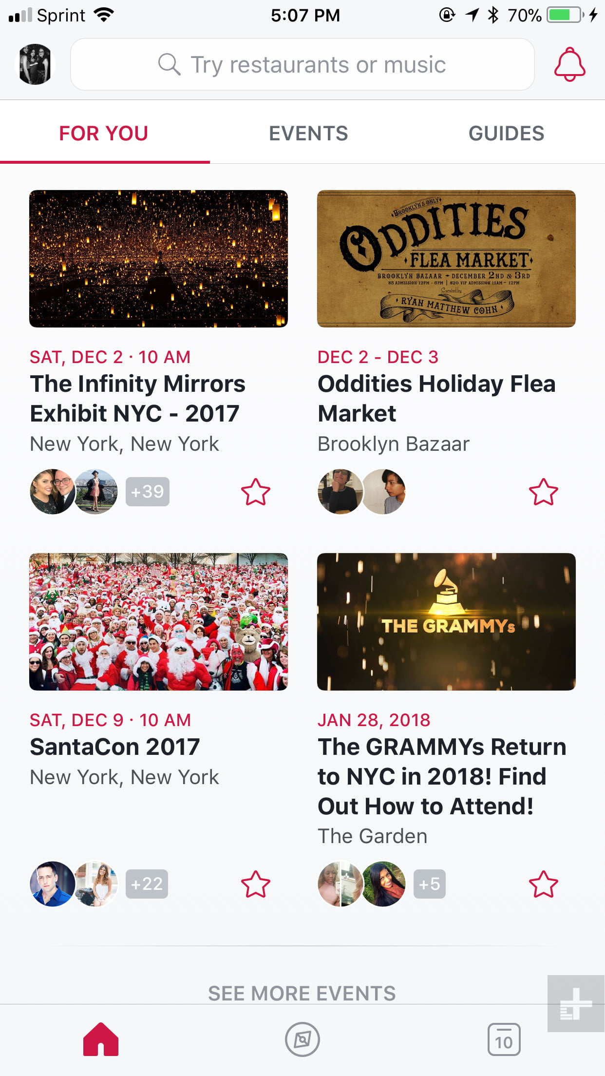 Revamps its Events App Introduces Local