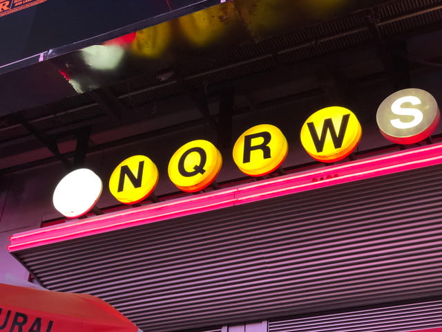 apple iphone 8 plus review camera sample neon sign