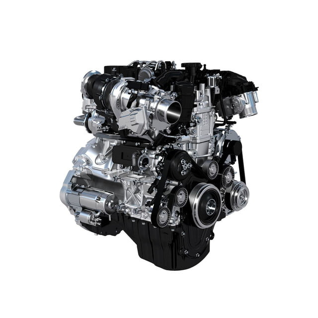 2016 Jaguar XE engine