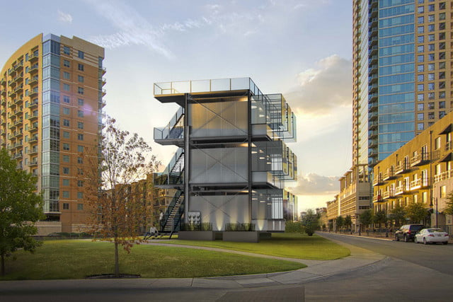 kasita is a tiny apartment that moves between cities austin downtown seaholm 1 1440x960