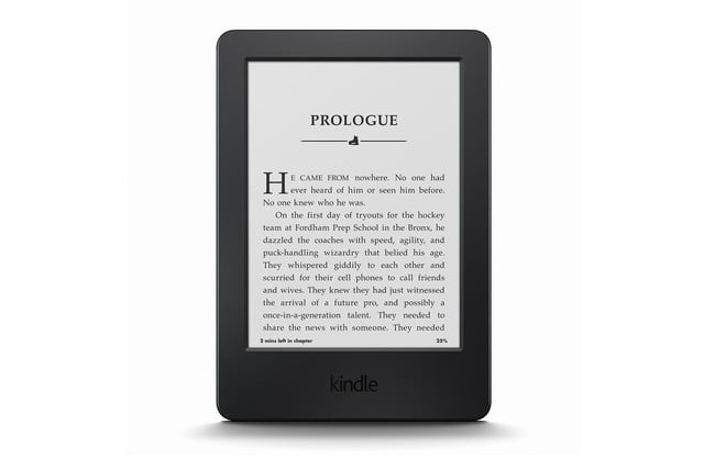 amazon launches high end voyage e reader kindle front press image