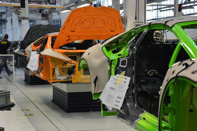 lamborghini factory tour pictures production process 0973