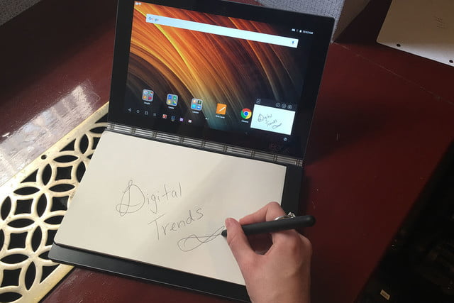 lenovo yoga book hands on handson 022