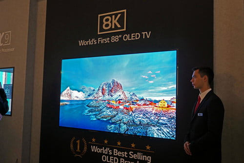 LG Unveils First 88-inch 8K OLED TV at IFA 2018 in Berlin