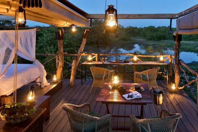 retreat from society and relax in these idyllic cabins around the world lion sands game reserve 3
