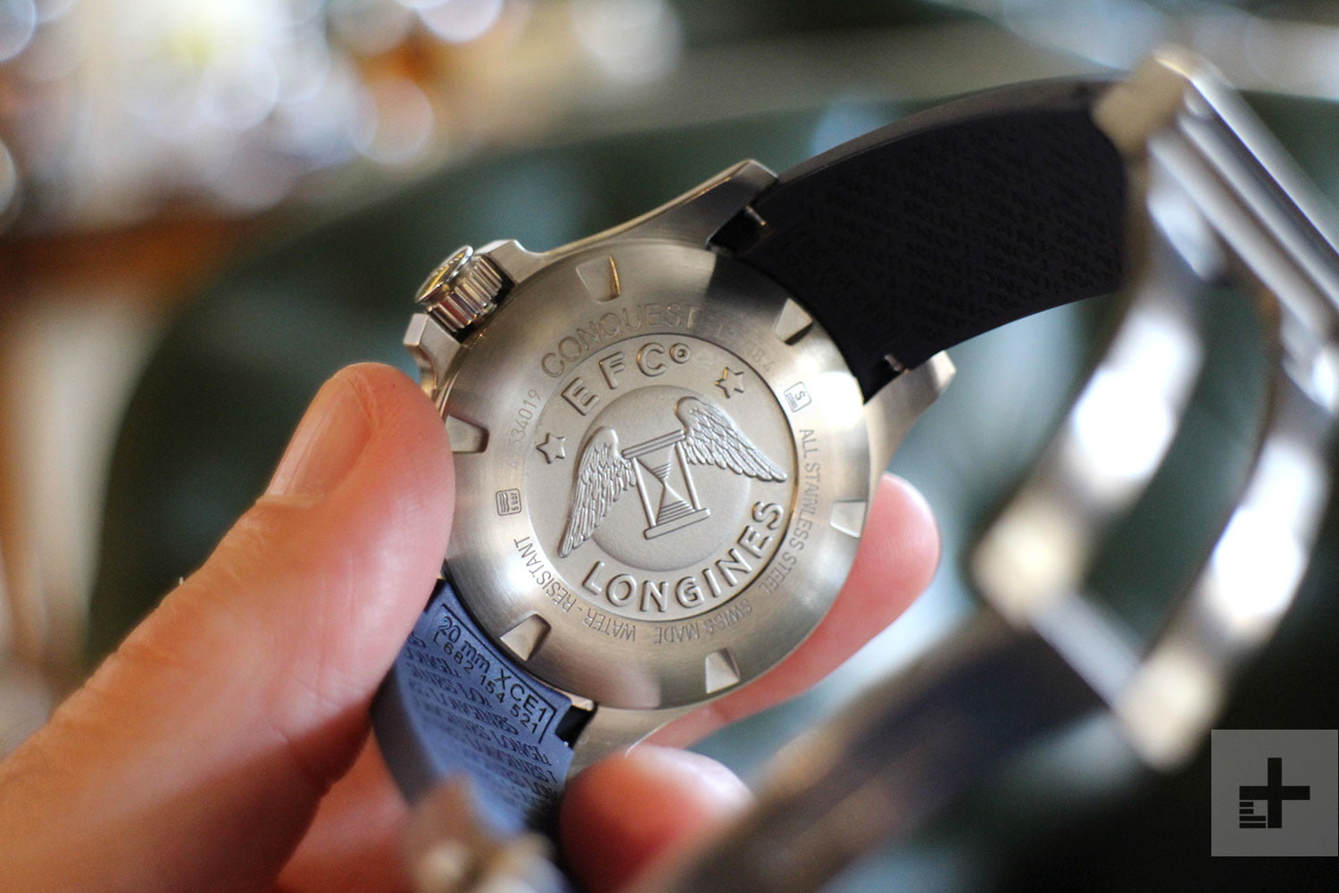 Longines' New Watch Uses The Flash On Your Phone To Transfer Data