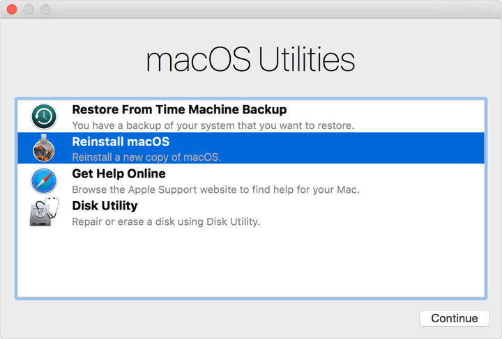 Restore a Mac to its Factory Settings: MacOS Reinstall