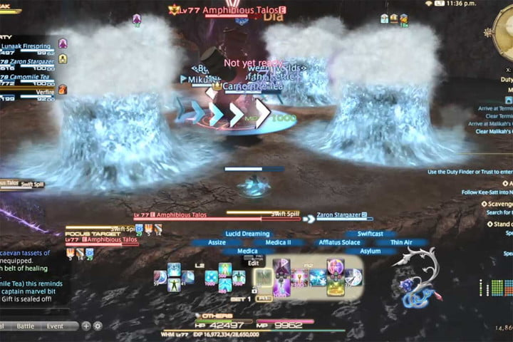 Final Fantasy XIV Shadowbringers: Malikah's Well Dungeon Guide