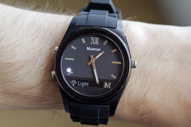 Martian Notifier Watch review full color 4