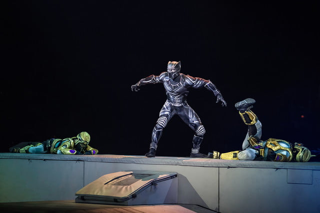marvel universe live circus age of heroes on stage 7