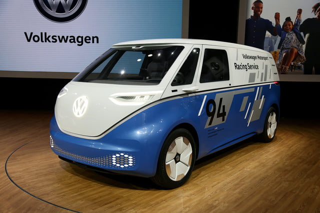 volkswagen id buzz cargo will report for delivery duty in 2022 mb vw carg race 2