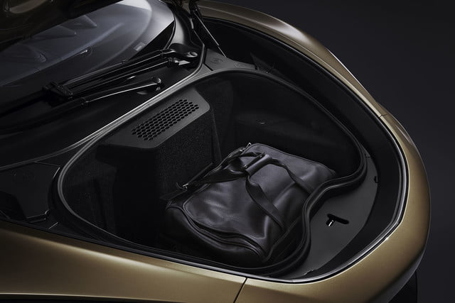 the recently revealed mclaren gt is a road trip ready supercar grand tourer 2019 interior 6
