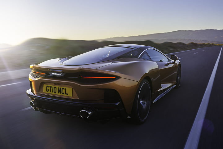 the recently revealed mclaren gt is a road trip ready supercar grand tourer 2019 lifestyle