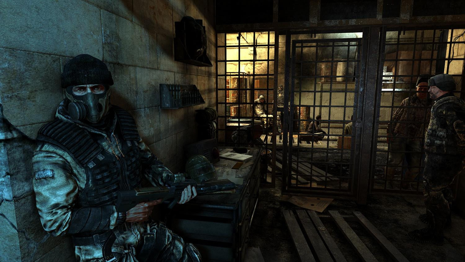 Metro Last Light Review Cell