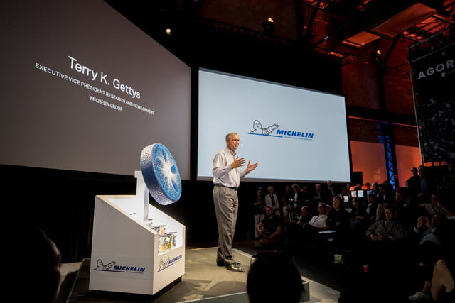 michelin visionary concept 3d printer tire terry gettys