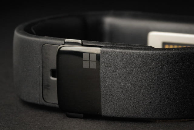Microsoft Fitness band review clasp