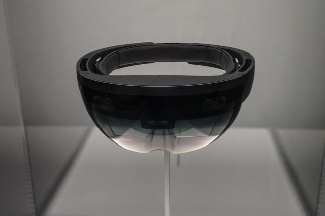 Microsoft HoloLens front