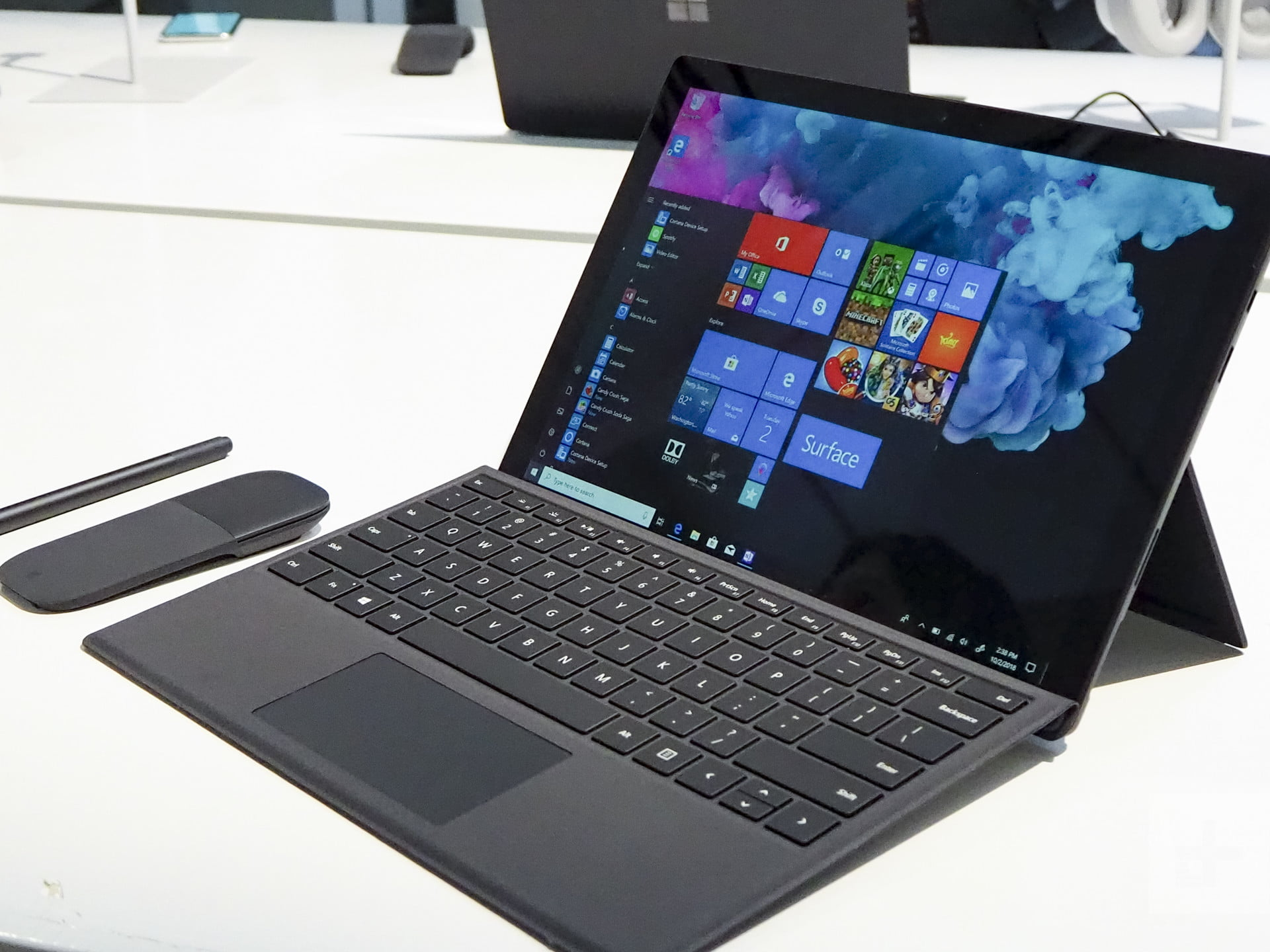 how to connect surface pro 3 to larger screen