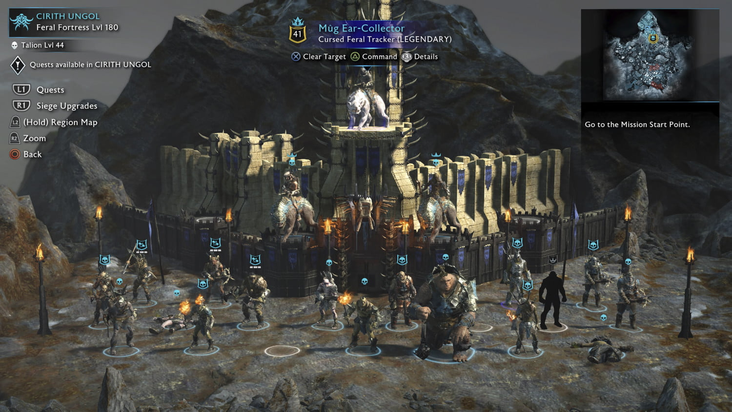 Image result for Middle-earth: Shadow of War game pic