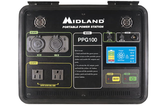 Midland PPG100 Portable Power Station