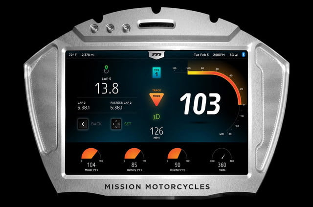 missions hot new 160hp electric motorcycles one gear plus reverse 150mph and no shifting mission moto rs display