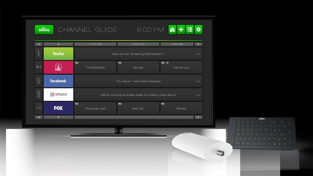 Mohu Channels Remote Box TV