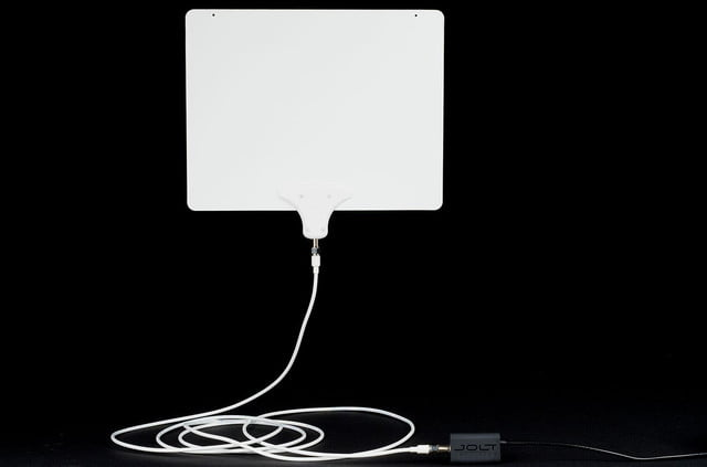 mohu leaf ultimate hdtv antenna review front