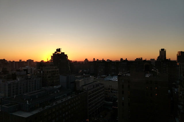 Moto X4 Android One review camera samples regular sunset