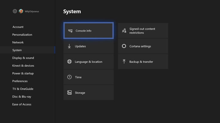 how to factory reset an xbox one my great capture screenshot 2018 01 09 14 26 50