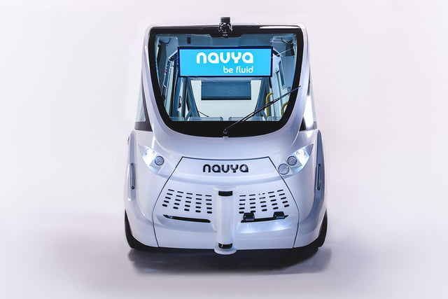 the challenges of driverless shuttles in smart cities navya autonomous shuttle 3