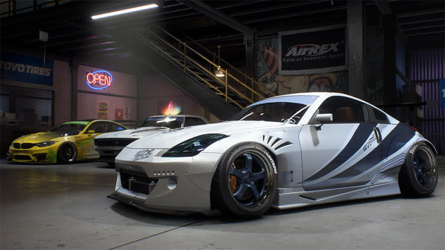 Need for Speed Payback review white car