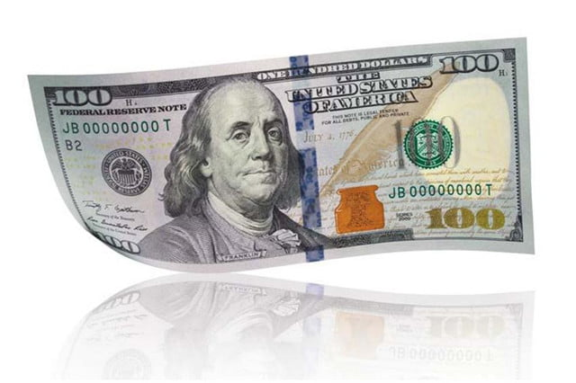 new 100 dollar bill 2013 front