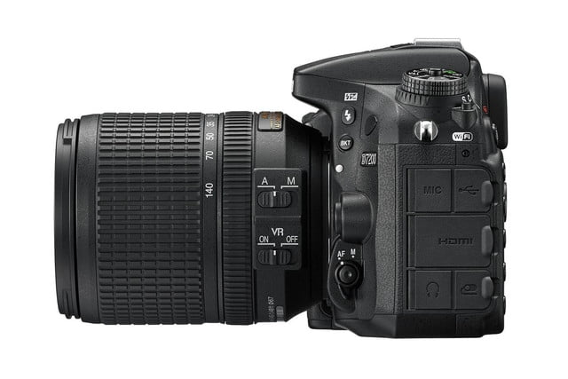 nikon pumps up its enthusiast dslr with enhanced image and movie capture d7200 18 140 left