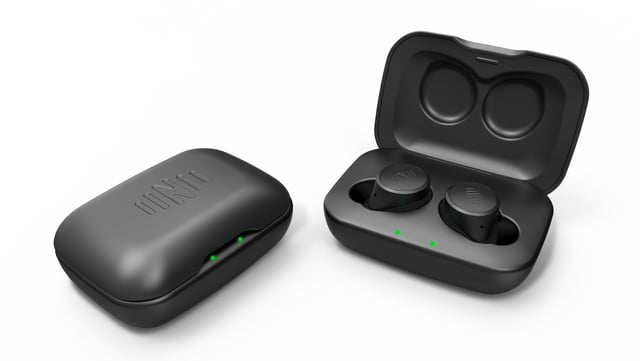 Nuheara LiveIQ in charging case