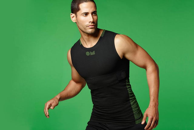 omsignals performance tracking biometric clothing line launches today omsignal sleeveless