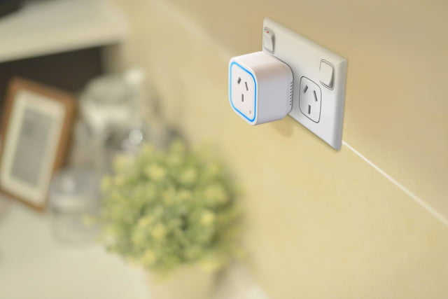 oomi is a tap and touch smart home hub connected system switch au white