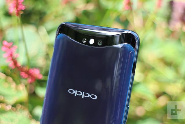 Oppo Find X back top half