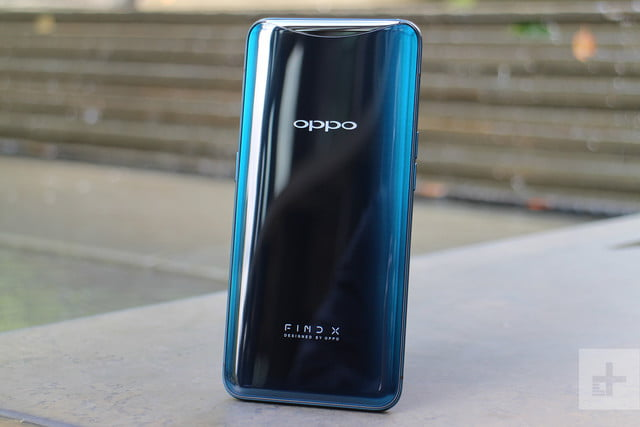 Oppo Find X back standing