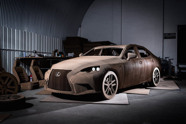 origami-inspired-lexus-is-front angle