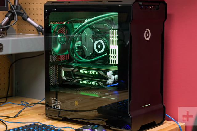 origin neuron 2017 gaming desktop review case door