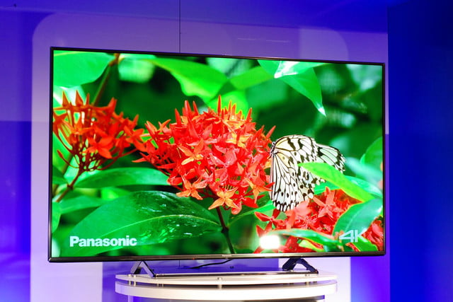 panasonic cx850 4k uhd tv at ces 2015 video 6
