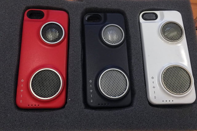Peri iPhone case with speaker 15
