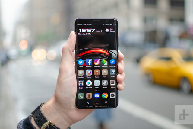 porsche design huawei mate rs front nyc streets